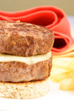Patty melt Royalty Free Stock Photography