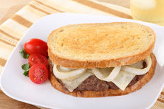 Patty Melt Sandwich Stock Photos