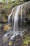 Patty's Falls. Is a small waterfall in the Englewood PReserve near Dayton, Ohio Royalty Free Stock Photo