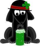 patty s ST σκυλιών ημέρας διανυσματική απεικόνιση