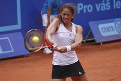 Patty Schnyder in WTA Prague open Stock Photos