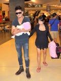 Pattya, Thailand: Family at Shopping Mall Stock Image