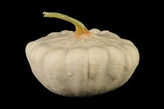 Pattypan on the black backround Royalty Free Stock Image