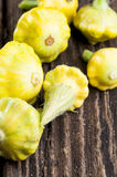 Pattypan squashes Stock Image