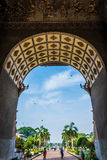 Patuxai, Laos Image stock