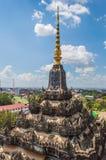 Patuxai Monument in Loas. Stock Photo