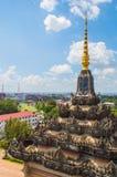 Patuxai Monument in Loas. Stock Image