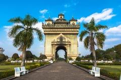 Patuxai, Victory Gate Imagenes de archivo