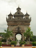Patuxai Victory Monument in Vientiane Stock Photography