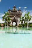 Patuxai in Vientiane Royalty Free Stock Images