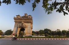 Patuxai Vientiane, Laos Lizenzfreie Stockfotos