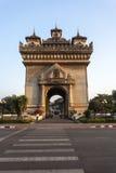 Patuxai Vientiane, Laos Stockfotografie