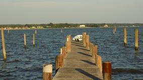 Patuxent-Fluss in Benedict Maryland Lizenzfreie Stockfotografie