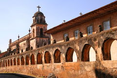 Patzcuaro. Church of the city of Patzcuaro, Michoacan, Mexico Royalty Free Stock Images