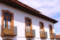 Patzcuaro architecture II Stock Image