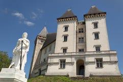 Pau Castle arkivfoto