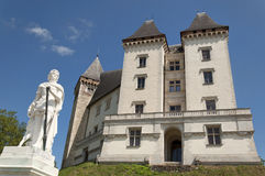 Pau Castle Stock Photo
