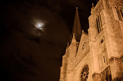 Pau. Cathedral of Pau in France Stock Photography