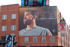 Pau Gasol des NBA Memphis Grizzlies lizenzfreie stockfotos
