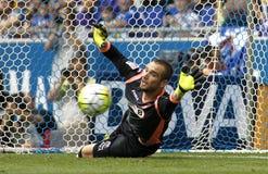 Pau Lopez av RCD Espanyol royaltyfri bild