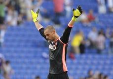 Pau Lopez de RCD Espanyol Photographie stock libre de droits