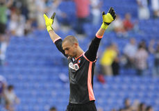 Pau Lopez of RCD Espanyol Royalty Free Stock Photography