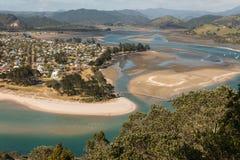Pauanui and Tairua river Royalty Free Stock Photo