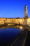 Pauda market square by night, Italy Royalty Free Stock Image