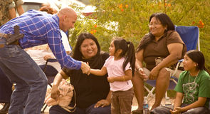 Paul Babeu at 2008 Parade Event Stock Image