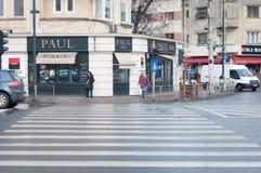 Paul bakelse shoppar Fotografering för Bildbyråer