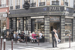 Paul bakery in Lille Stock Image