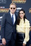 Paul Bettany and Jennifer Connelly Stock Photos