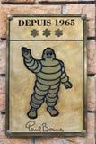 Paul Bocuse restauracja, 3 gwiazdy przy Michelin przewdonikiem Fotografia Royalty Free