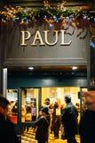 Paul Boulangerie in Frankreich Lizenzfreie Stockbilder