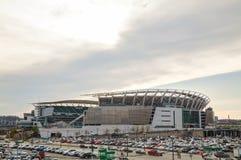 Paul Brown stadium w Cincinnati, Ohio zdjęcie stock