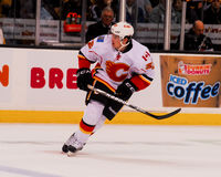 Paul Byron Calgary Flames Immagine Stock Libera da Diritti