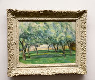 Paul Cézanne - an Albertina-Museum in Wien Stockfotos
