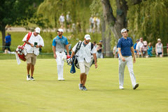 Paul Casey and Brendon Todd at the Memorial Tournament Royalty Free Stock Images