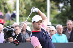 Paul Casey at the Seve Trophy 2013 Royalty Free Stock Photography