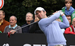 Paul Casey at the Seve Trophy 2013 Royalty Free Stock Image
