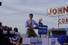 Paul Davis Ryan Rally Mitt Romney Royalty Free Stock Photos