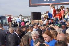 Paul Davis Ryan Rally Mitt Romney Stock Images