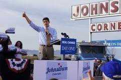 Paul Davis Ryan samlar Mitt Romney Royaltyfri Bild