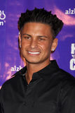 Paul DelVecchio. LOS ANGELES - JAN 13:  Paul Delvecchio aka Pauly D arrives at  the Hilarity For Charity Benefit at Vibiana on January 13, 2012 in Los Angeles Royalty Free Stock Image