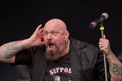 Paul di Anno. On Masters of Rock 2012 Royalty Free Stock Photography