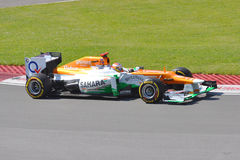 Paul di Resta in de Canadese Grand Prix van 2012 F1 Stock Foto