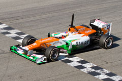 Paul Di Resta (Force India) Royalty Free Stock Images