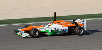 Paul Di Resta of Force India Stock Photography