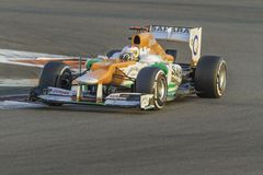 Paul di Resta -Force India Royalty Free Stock Images
