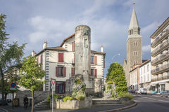 Paul Doumer Monument, Aurillac, France Stock Photos